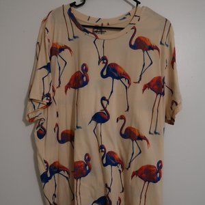 XXL Arizona Men's flamingo SS cotton t-shirt